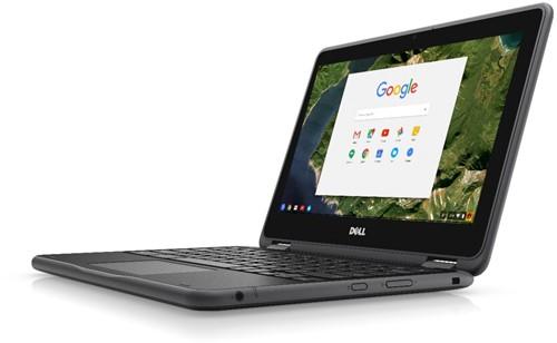 """DELL Chromebook 3189 1.6GHz N3060 11.6"""" 1366 x 768Pixels Touchscreen Zwart Chromebook-3"""