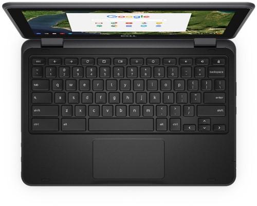 """DELL Chromebook 3189 1.6GHz N3060 11.6"""" 1366 x 768Pixels Touchscreen Zwart Chromebook-2"""