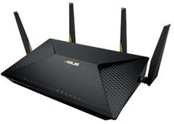 ASUS BRT-AC828 Dual-band (2.4 GHz / 5 GHz) Gigabit Ethernet Zwart draadloze router