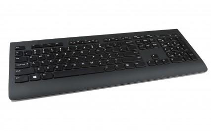 Lenovo 4X30H56844 RF Draadloos Belgisch, Frans Zwart toetsenbord