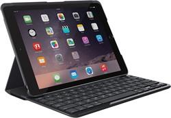 Logitech 920-008619 AŽERTY Frans Zwart toetsenbord voor mobiel apparaat