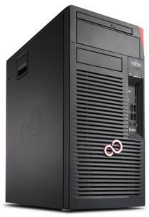 Fujitsu CELSIUS W570 3.6GHz i7-7700 Desktop Zwart, Rood Workstation-2