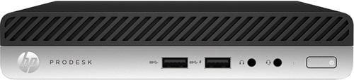 HP ProDesk 400 G3 2.5GHz i5-6500T 1L  maat pc Zwart Mini PC-1