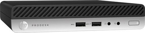 HP ProDesk 400 G3 2.5GHz i5-6500T 1L  maat pc Zwart Mini PC-2