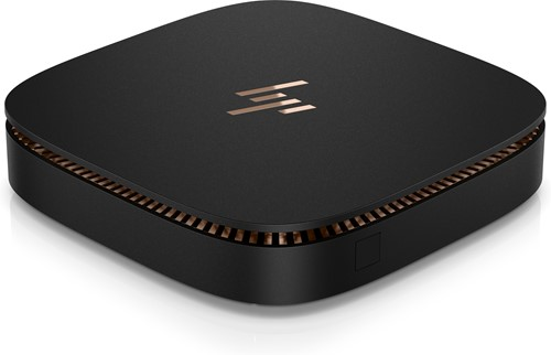 HP Elite Slice 2.5GHz i5-6500T 1L  maat pc Zwart Mini PC