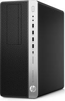 HP EliteDesk 800 G3 3.6GHz i7-7700 Toren Zwart, Zilver PC-3