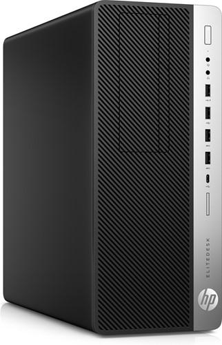 HP EliteDesk 800 G3 3.6GHz i7-7700 Toren Zwart, Zilver PC-2