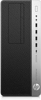 HP EliteDesk 800 G3 3.6GHz i7-7700 Toren Zwart, Zilver PC