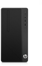 HP 290 G1 3.5GHz G4560 Micro Tower Zwart PC
