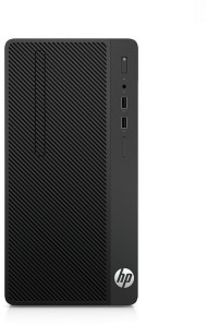 HP 290 G1 3.5GHz G4560 Micro Tower Zwart PC