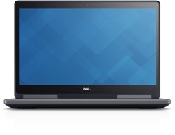 "DELL Precision M7720 2.7GHz i7-6820HQ 17.3"" 1920 x 1080Pixels Zwart Mobiel werkstation"