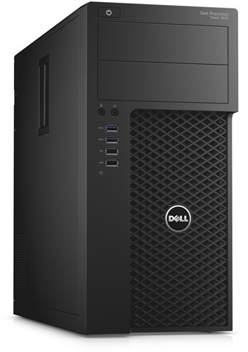 DELL Precision T3620 3.5GHz E3-1240V5 Mini Toren Zwart Workstation