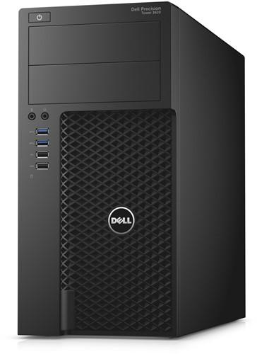 DELL Precision T3620 3.5GHz E3-1240V5 Mini Toren Zwart Workstation-2