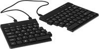 R-Go Tools Split Ergonomisch Toetsenbord, QWERTY(US), zwart, Bedraad