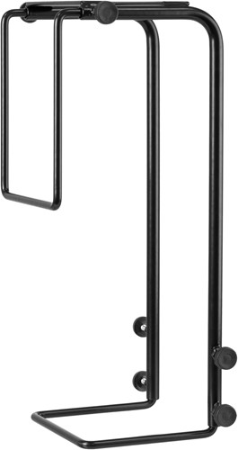 R-Go Tools Steel Basic CPU Houder, verstelbaar, zwart