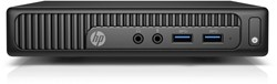 HP 260 G2 Mini 2.1GHz 4405U Desktop Zwart Mini PC