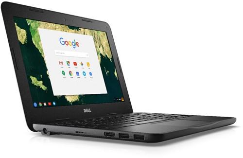 "DELL Chromebook 3180 1.6GHz N3060 11.6"" 1366 x 768Pixels Zwart Chromebook-2"
