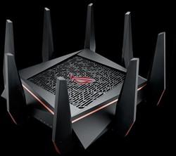 ASUS ROG Rapture GT-AC5300 Dual-band (2.4 GHz / 5 GHz) Gigabit Ethernet Zwart draadloze router