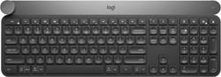 Logitech Craft RF Wireless + Bluetooth QWERTY US International Zwart, Grijs
