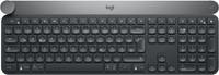 Logitech Craft RF Wireless + Bluetooth QWERTZ Zwitsers Zwart, Grijs toetsenbord