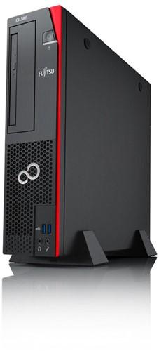 Fujitsu CELSIUS J550/2 3.8GHz E3-1275V6 SFF Zwart, Rood PC