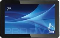 "ProDVX TMP-07 7"" 1024 x 600Pixels Multi-touch Zwart touch screen-monitor"