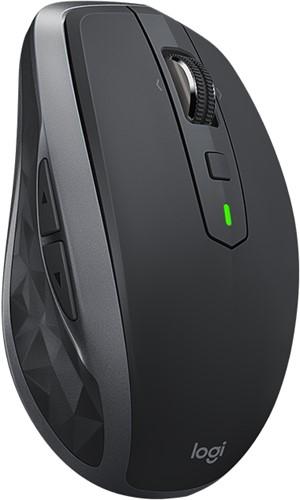 Logitech MX Anywhere 2S RF draadloos + Bluetooth Laser 1000DPI Rechtshandig Grafiet muis