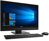 """DELL OptiPlex 7450 3.4GHz i5-7500 23.8"""" 1920 x 1080Pixels Zwart Alles-in-één-pc"""
