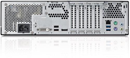 Fujitsu ESPRIMO D556/2/E85+ 3GHz i5-7400 Desktop Zwart, Rood PC-3