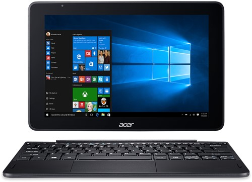 "Acer One 10 S1003-18XW 1.44GHz x5-Z8350 10.1"" 1280 x 800Pixels Touchscreen Zwart Hybride (2-in-1)-1"