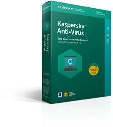Kaspersky Lab Kaspersky Anti-Virus 2018 3gebruiker(s) 1jaar Full license Nederlands, Frans