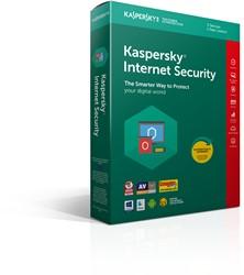 Kaspersky Lab Kaspersky Internet Security 2018 3gebruiker(s) 1jaar Full license Nederlands, Frans