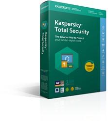 Kaspersky Lab Kaspersky Total Security 2018 3gebruiker(s) 1jaar Full license Nederlands, Frans