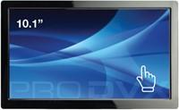"ProDVX TMP-10B 10.1"" 1024 x 600Pixels Multi-touch Zwart touch screen-monitor"