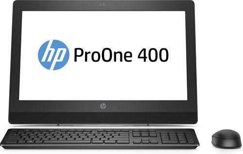 "HP ProOne 400 G3 3.9GHz i3-7100 20"" 1600 x 900Pixels Zwart Alles-in-één-pc-1"