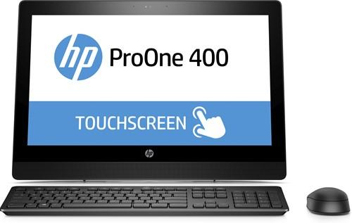 """HP ProOne 400 G3 3.4GHz i5-7500 20"""" 1600 x 900Pixels Touchscreen Zwart Alles-in-één-pc-1"""