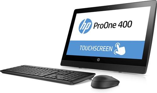 """HP ProOne 400 G3 3.4GHz i5-7500 20"""" 1600 x 900Pixels Touchscreen Zwart Alles-in-één-pc-3"""