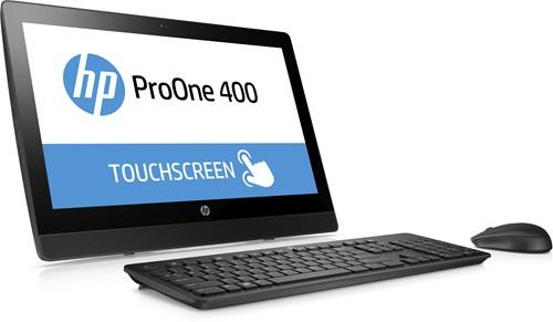 """HP ProOne 400 G3 3.4GHz i5-7500 20"""" 1600 x 900Pixels Touchscreen Zwart Alles-in-één-pc-2"""