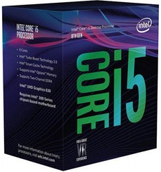 Intel Core i5-8600K 3.6GHz 9MB Smart Cache Box processor