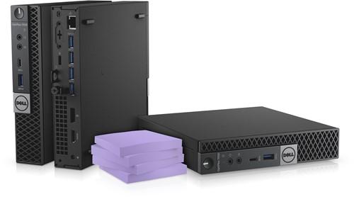 DELL OptiPlex 7050 2.7GHz i5-7500T 1.2L  maat pc Zwart Mini PC-1