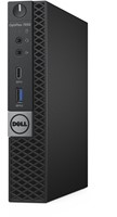 DELL OptiPlex 7050 2.7GHz i5-7500T 1.2L  maat pc Zwart Mini PC-2