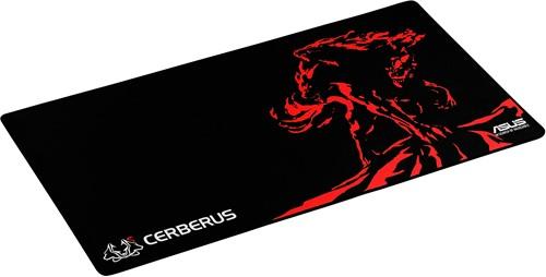 ASUS Cerberus Mat XXL Zwart, Rood muismat-3