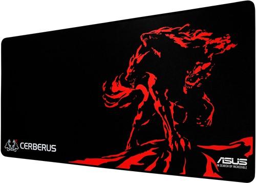 ASUS Cerberus Mat XXL Zwart, Rood muismat-2