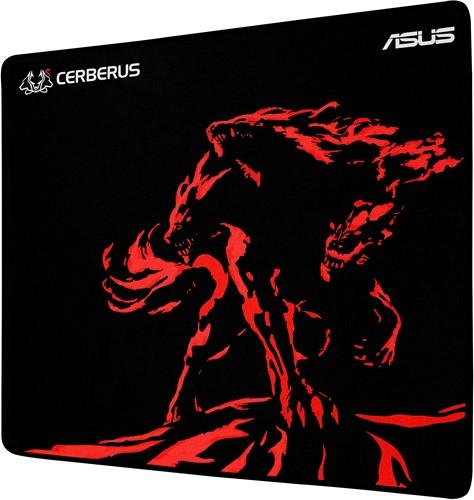 ASUS Cerberus Mat Plus Zwart, Rood muismat-2