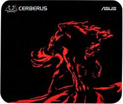 ASUS Cerberus Mat Mini Zwart, Rood muismat