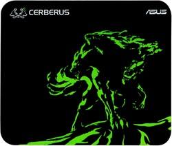 ASUS Cerberus Mat Mini Zwart, Groen muismat