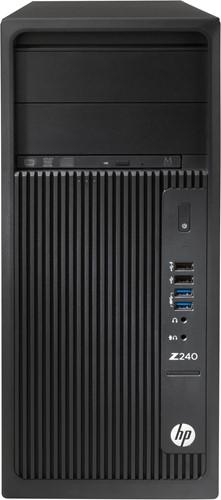 HP Z240 3.7GHz E3-1245V6 Toren Zwart Workstation-1