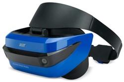 Acer AH100 Op het hoofd gedragen beeldscherm (HMD) 350g Zwart, Blauw