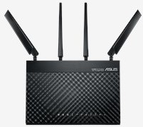 ASUS 4G-AC68U Dual-band (2.4 GHz / 5 GHz) Gigabit Ethernet 3G 4G Zwart draadloze router