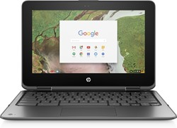 """HP Chromebook x360 11 G1 EE 1.1GHz N3350 11.6"""" 1366 x 768Pixels Touchscreen Zwart Chromebook"""